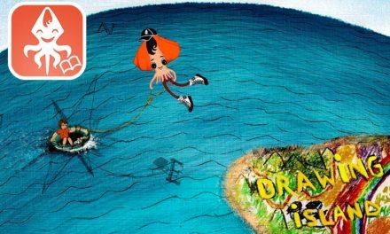 La Isla de los Dibujos: Applicación Tú y el Calamar Volador