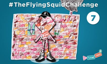 Join the Flying Squid for Camouflage Me!