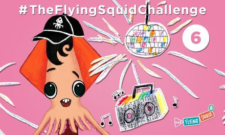 Join the Flying Squid in a Face Dance!