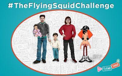 ¡El reto del Calamar Volador!