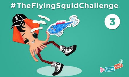 Join the Flying Squid in the Smell Challenge!