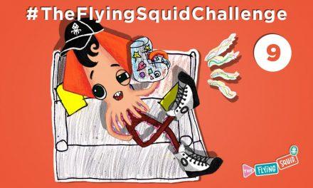 Súmate al Calamar Volador en… ¡El Teléfono Extraño!