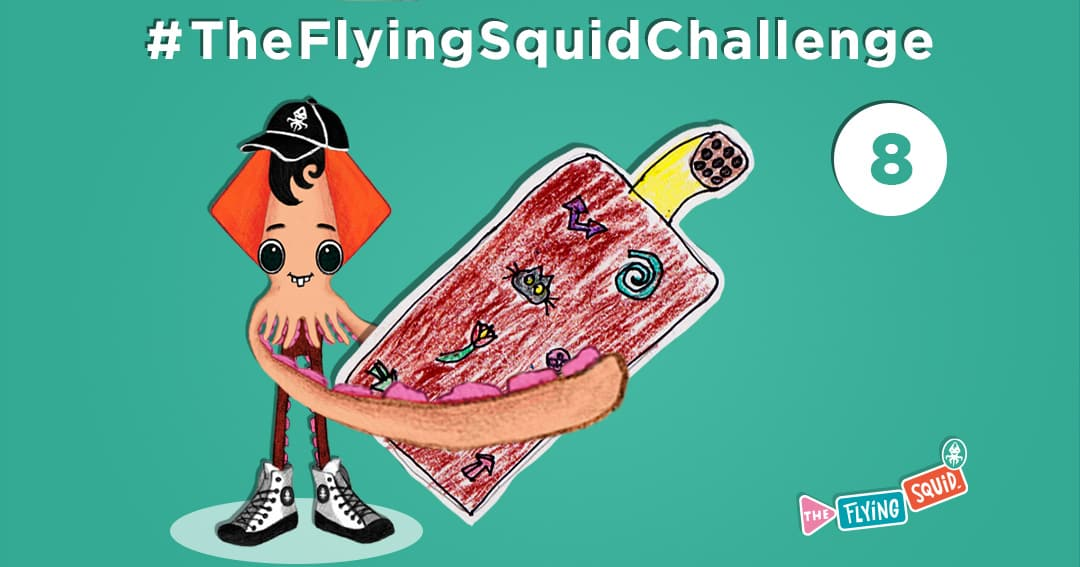 The Flying Squid is playing fun activities to do with kids, in this case a game called Remote Control Me