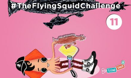 Join the Flying Squid for some  Shadow Puppetry!