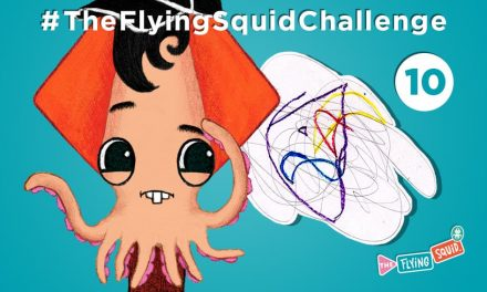 Join the Flying Squid in drawing Scrawl Scribble!