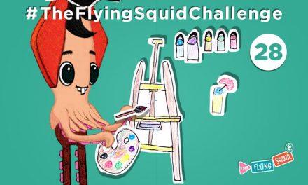 Súmate al Calamar Volador en el… ¡Dibujo Imposible!