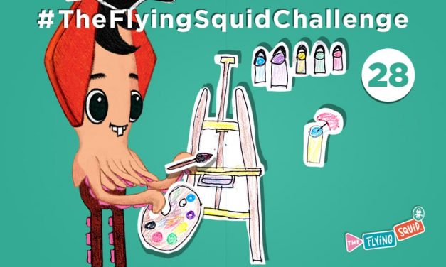 Join the Flying Squid for the Impossible Drawing!