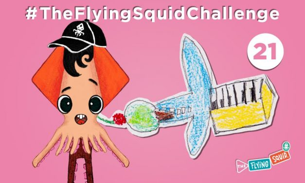 Join the Flying Squid with some Mixed-Up Images!