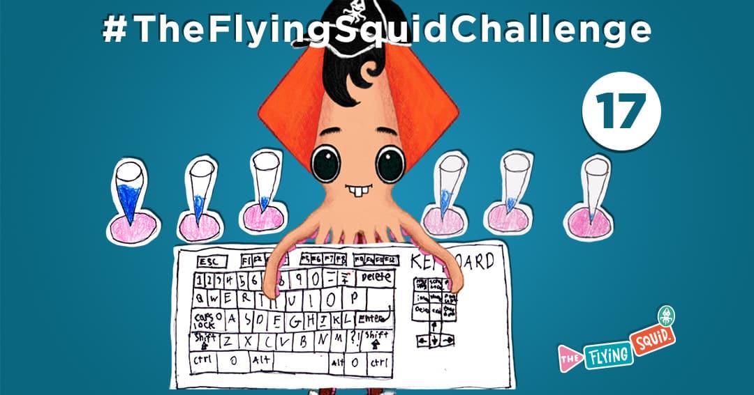 El Calamar Volador y sus actividades para niños, en este caso creando música Mundana