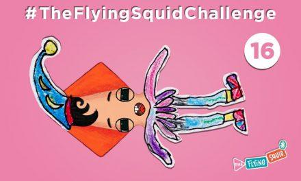 Súmate al Calamar Volador en… ¡Olimpiada de Pijamas!