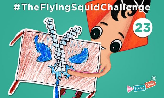Join the Flying Squid in the Ice, Ice, Baby Squid Challenge!